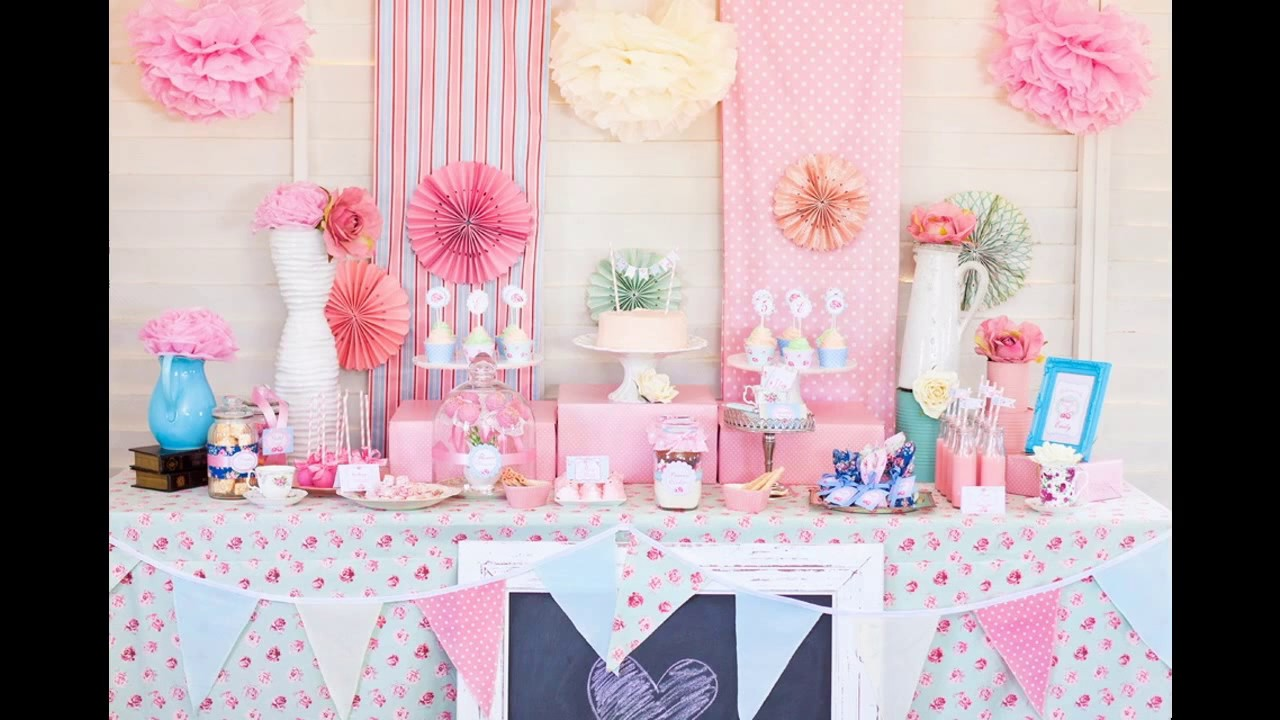 Princess Theme Decoration Ideas Part - 29: Princess Baby Shower Themes Decorations Ideas