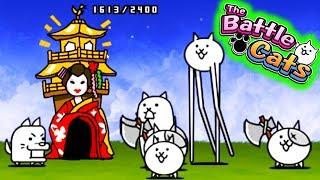 JAPONIA OPANOWANA PRZEZ KOTY | THE BATTLE CATS #admiros