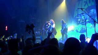 Helloween - Halloween/How many tears/Heavy Metal is the law (with Kai Hansen) Fuzz club Athens 2013