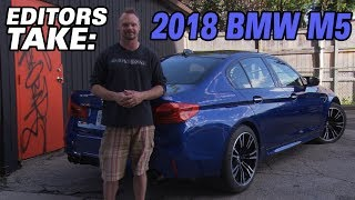 The 2018 BMW M5 - Editors Take