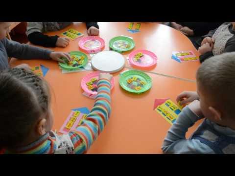 Дидактическая игра по математике Математические домики Детский сад Старшая группа HD