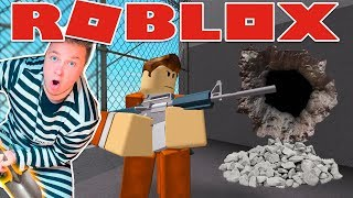 HELP PAPA JAKE ESCAPE FROM ROBLOX PRISON CHALLENGE!