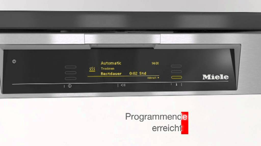 Miele geschirrspuler auto open youtube for Miele autoopen