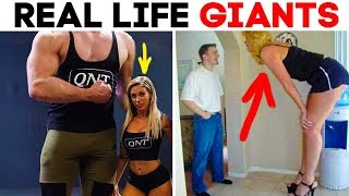 55 REAL LIFE GIANTS THAT CAN'T FIT JUST ABOUT ANYWHERE