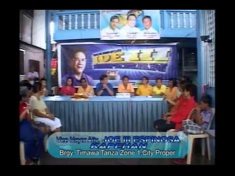 Vice Mayor Atty Joe III Espinosa - Kapehan sa Barangay Tanza Timawa I City Proper Iloilo City