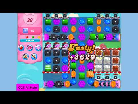 Candy Crush Saga Level 3280 NO BOOSTERS Cookie