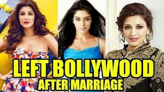 10 Bollywood Actresses Who Quit Acting after marriage celebrity lifestyle