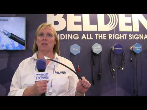 Belden 4K Single Link 12G SDI Coax Cables