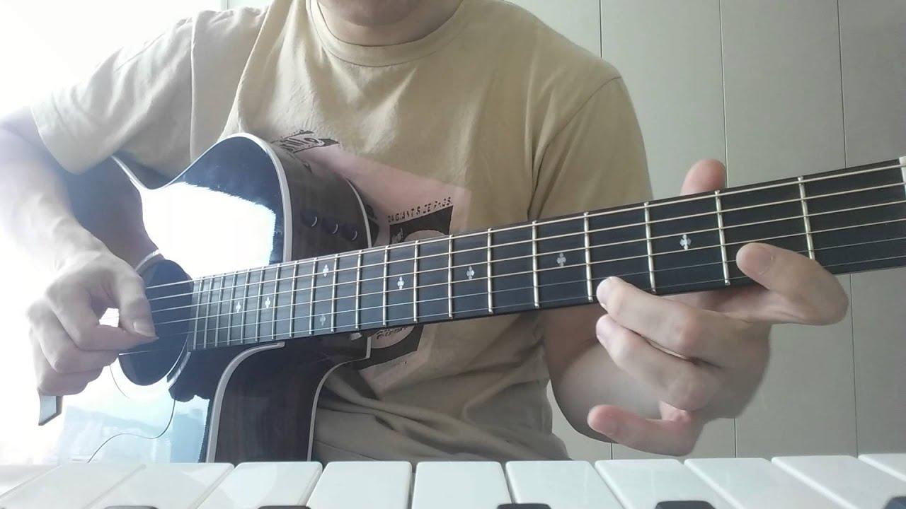 [기타팝]자이언티-양화대교(Zion T YangHwa bridge) 기타코드 guitar chords