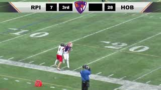 HOBART HIGHLIGHTS: Football scores 31 straight to top RPI