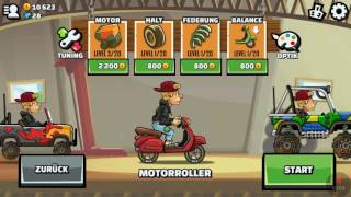 Hill Climb Racing - Hippie Van on Junkyard | GamePlay 😁