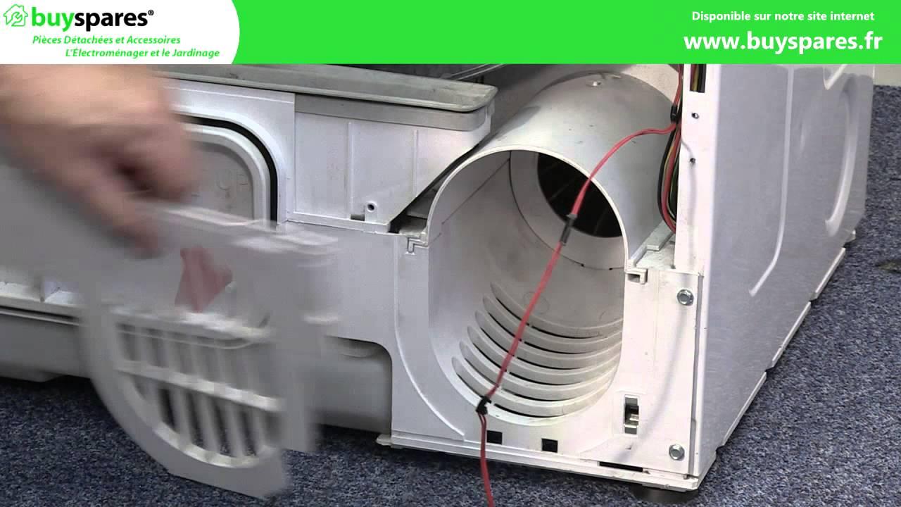 Comment remplacer une courroie d 39 entra nement dans un s che linge hoover - Comment superposer machine a laver et seche linge ...
