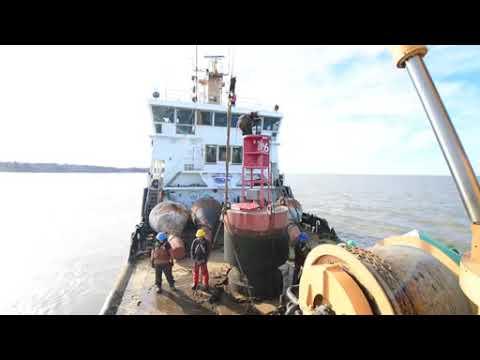 Coast Guard buoy tender conducts seasonal buoy swaps on