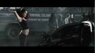 Natalie Martinez Showing Her Belly/Stomach In Death Race