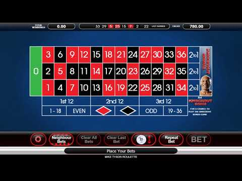 Mike Tyson Roulette - Casino Kings