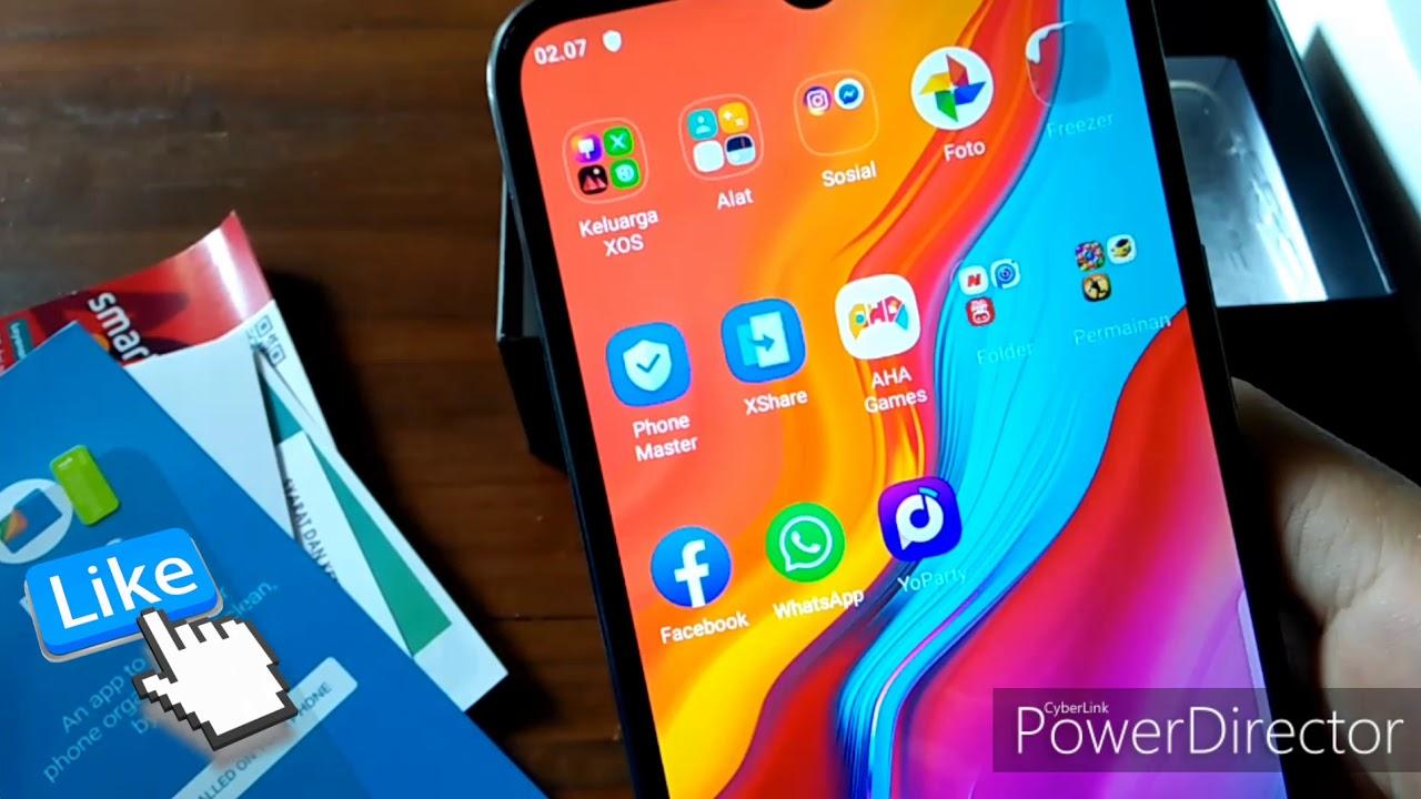 Review Handphone Baru Infinix HOT 8, Spek Dewa Harga ...