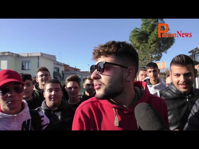 Protesta Studenti ISISS G  Marconi Vairano Patenora