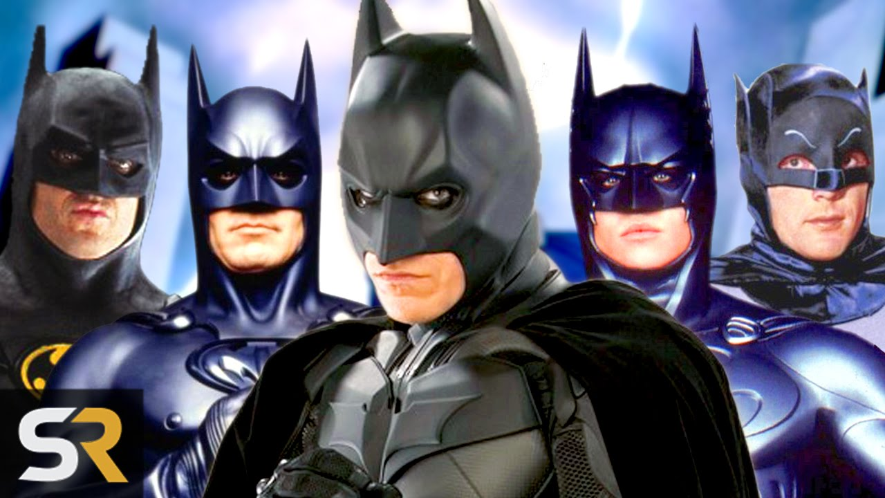Batman VS Batman: Which Actor Played Him Best? - YouTube