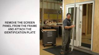 installing and adjusting a gliding insect screen andersen windows