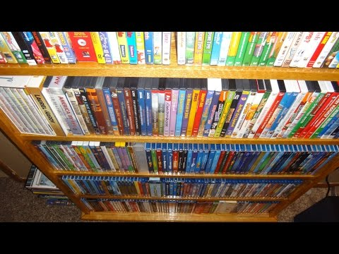 My Entire Movie Collection - Blu-Ray, DVD, VHS, etc. February 2015