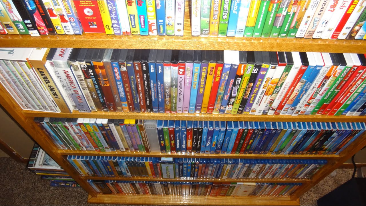 My Entire Movie Collection Blu Ray Dvd Vhs Etc