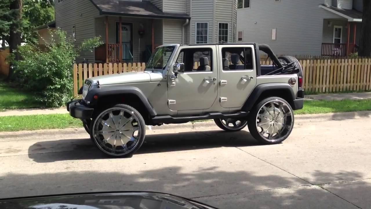 wrangler winch rockstar wheels jeep xrc xd bumper lights watch rims youtube led dubsandtires review com