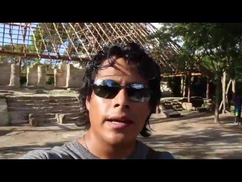 La zona arqueológica de Cozumel.