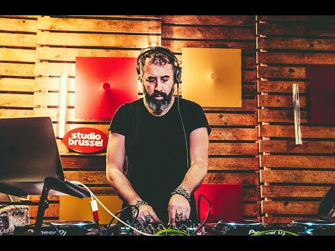Dave Clarke - live bij Studio Brussel