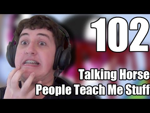 Reaction - Talking Horse People Teach Me Stuff