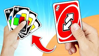 PLAYING The ULTIMATE Card In UNO! (auto win)