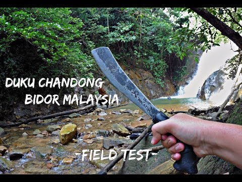 The Duku Chandong of Bidor, Malaysia - Parang Field Test