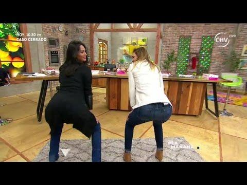 Carolina De Moras Y Pamela Díaz Bailaron Twerking - La Mañana