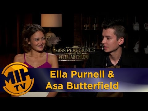 Ella Purnell & Asa Butterfield Miss Peregrine's Interview