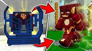 HOW TO BECOME THE FLASH IN MINECRAFT?!