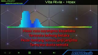 Vita Alvia - HOAX   Karaoke Lirik