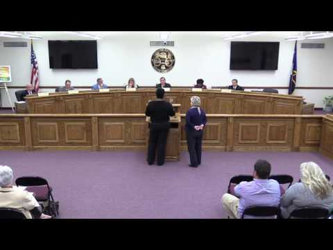 Chester County Council Meeting 3-6-2017