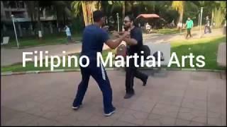 Filipino Martial Arts Knife Training// Trainer Buddhpal Bauddh//