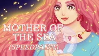 MOTHER OF THE SEA - PONYO [SPEEDPAINT]