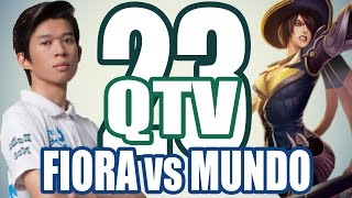 Stream QTV - FIORA vs MUNDO - PreSeason 6 #23 (23/11)