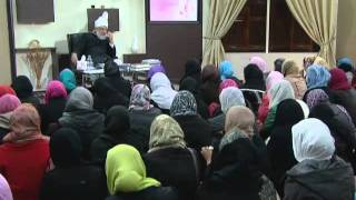 Gulshan-e-Waqfe Nau (Nasirat) Class: 6th November 2010 - Part 4 (Urdu)