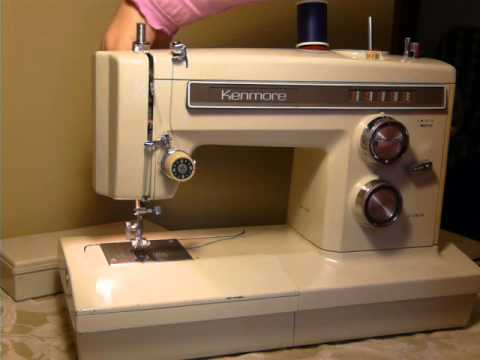 NIFTYTHRIFTYGIRL Vintage Kenmore Model 40 Convertible Free Arm Enchanting Kenmore Sewing Machine Vintage