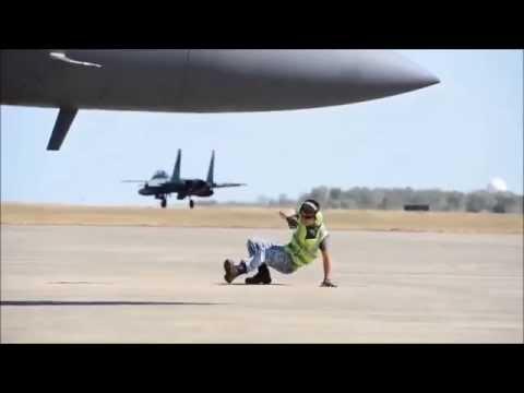 RSAF B-Boy shows off smooth moves on runway