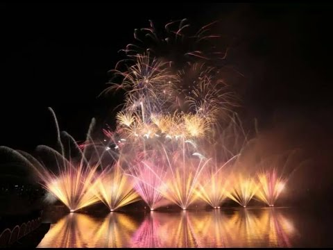 Austria Team Pyrovision in Shanghai International Music Fireworks Festival