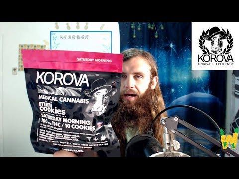 Marijuana Edible Review: Korova Mini Cookies Saturday Morning 100 mg