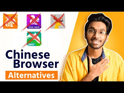 UC Browser And Opera Mini Alternative | Chinese Browser Alternative | #boycottchinaapps