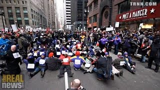 Over 100 Arrested Protesting Mass School Closings In Chicago