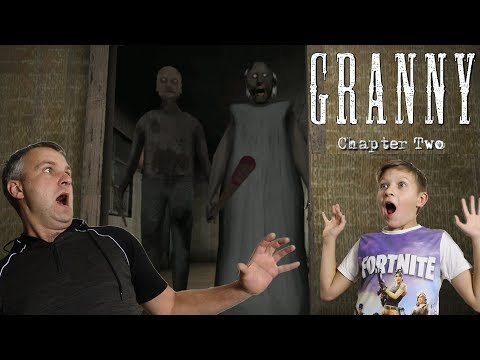 Granny 2! У бабули ГРЕННИ появился дедуля Grandpa