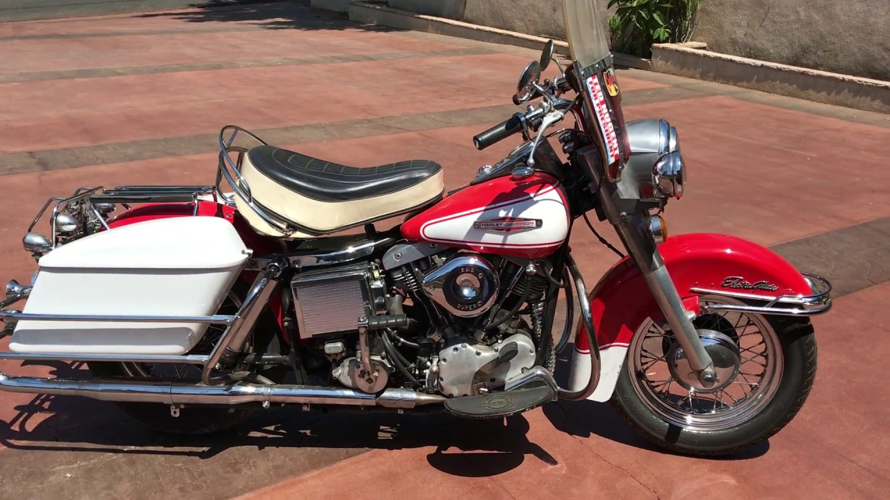 small resolution of 1966 harley davidson electra glide flh original paint for sale