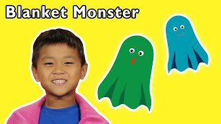 Blanket Monster and More | SCARY SURPRISE PRANK | Baby Songs from Mother Goose Club!