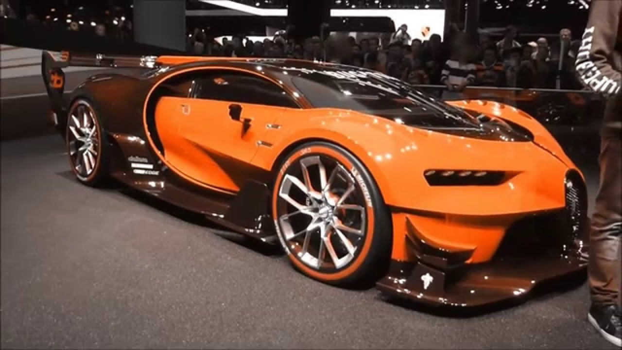Bugatti changes colour